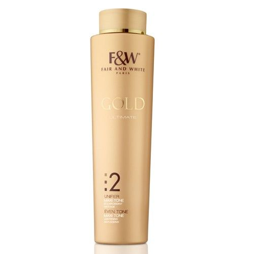 F&W Gold 2 Maxi Tone Lotion UE 350ml