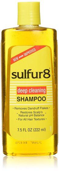Sulfur-8 Medicated Shampoo 7.5oz.