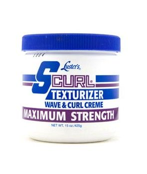 S-Curl Texturizer Cream 16oz. Maximum