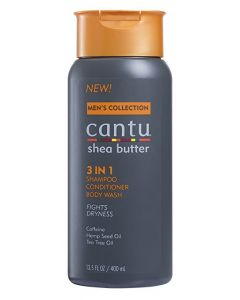 Cantu Men 3in1 Shampoo 13.5oz.