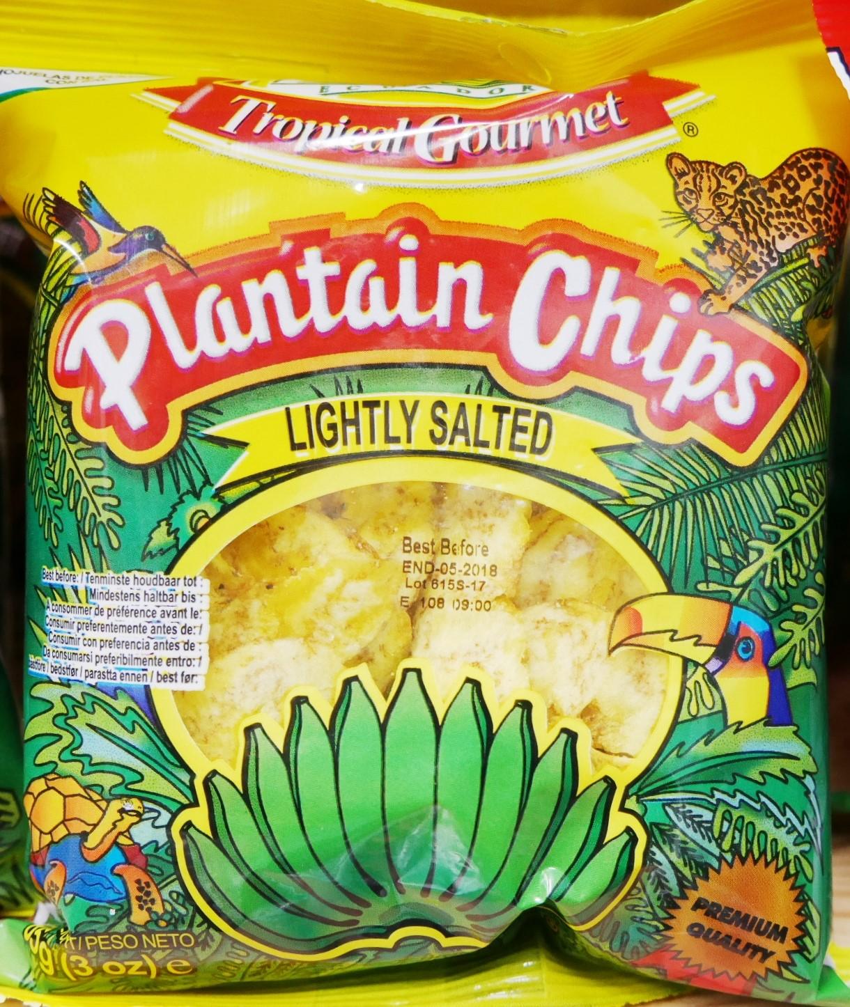 Bananen Chips - Gesalzen