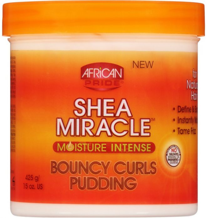 African Pride Shea Butter Bouncy Curls Pudding 15oz.