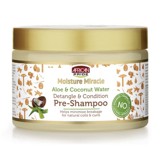 APN Moisture Miracle Pre-Shampoo 12oz