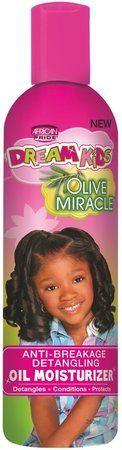 African Pride Dream Kids OM Oil Moisturizer Lotion 8oz.