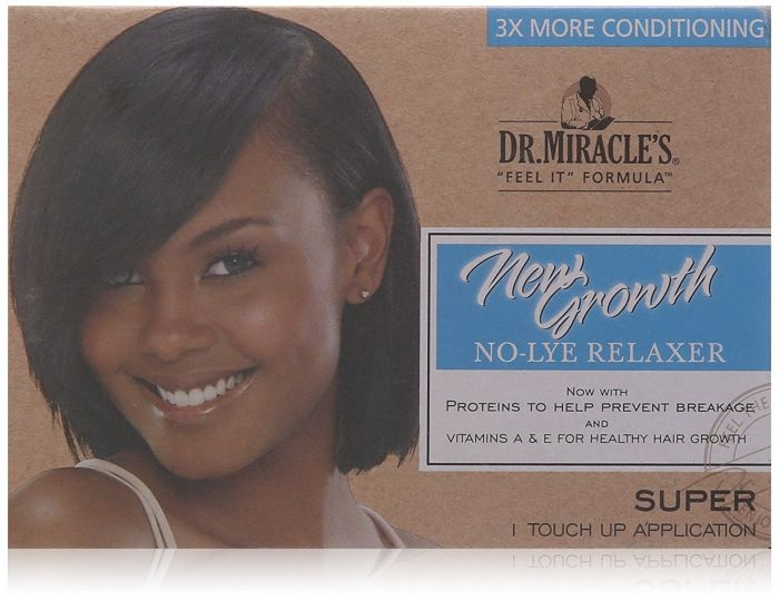 Dr.Miracles New Growth Relaxer Kit Super