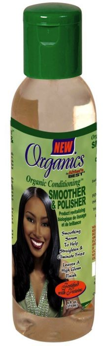 Africa's Best Organics Smoother&Polisher Smoothing Serum 6oz