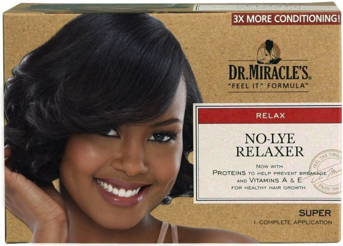 Dr.Miracles Relaxer Kit Super