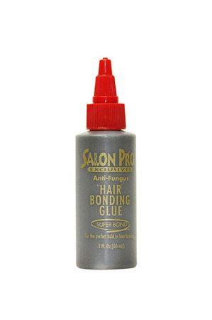 Salon Pro Hair Bonding Glue Black 2oz.