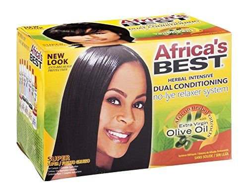 AB No-Lye Relaxer Kit Super