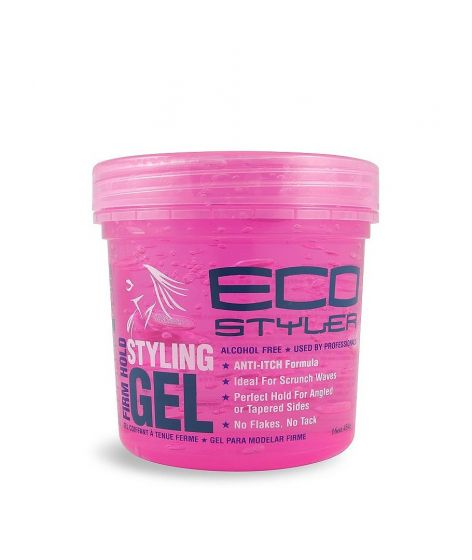 ECO Styler Styling Gel Curl & Wave 16oz. (pink)