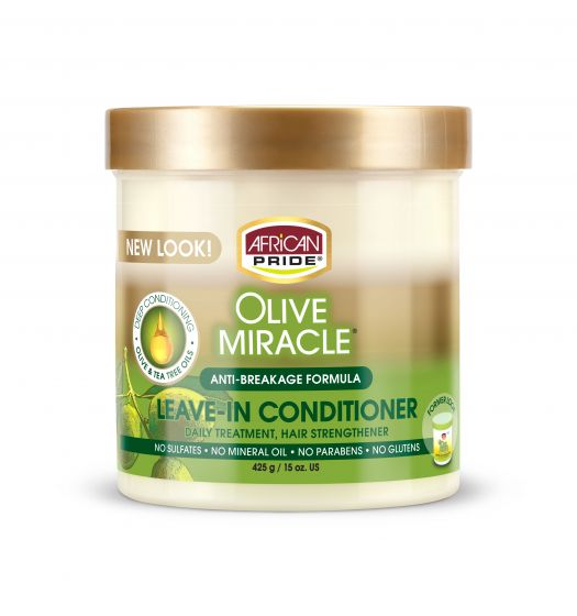AP Olive Miracle Leave-In Conditioner Creme 15oz