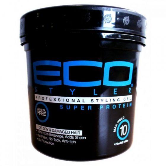 ECO Styler Styling Gel Super Protein B/Blue 16oz.
