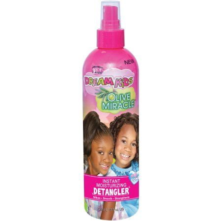African Pride Dream Kids OM Instant Moist. Detangler 8oz.