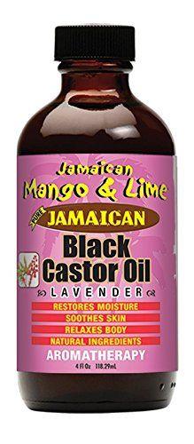Jamaican M&L Black Castor Oil Lavender 4oz.