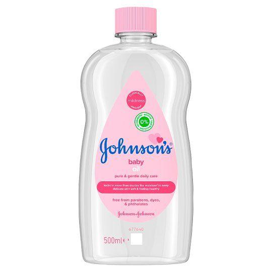 Johnsons Babyöl 500ml.
