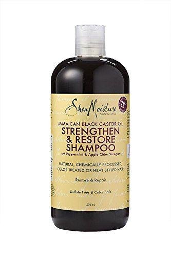 Shea Moisture JBC Oil S&R Shampoo 13oz.