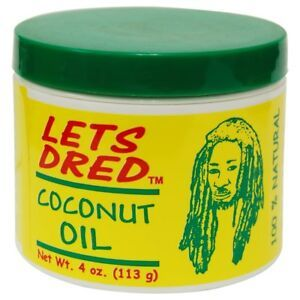 Lets Dred Coconut Oil 4oz.