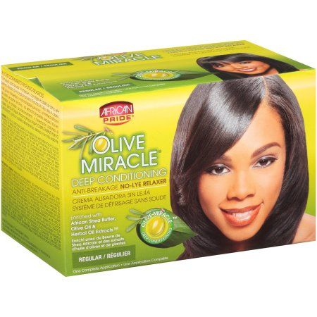AP Olive Miracle Relaxer Kit Regular