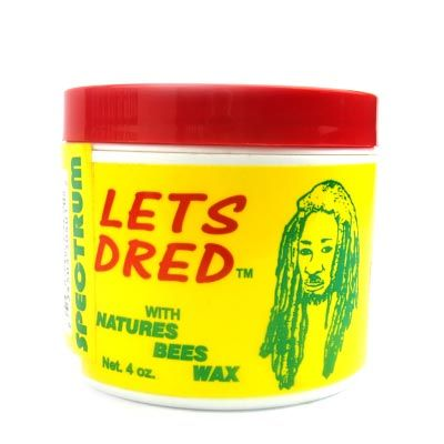 Lets Dred Beeswax 4oz.
