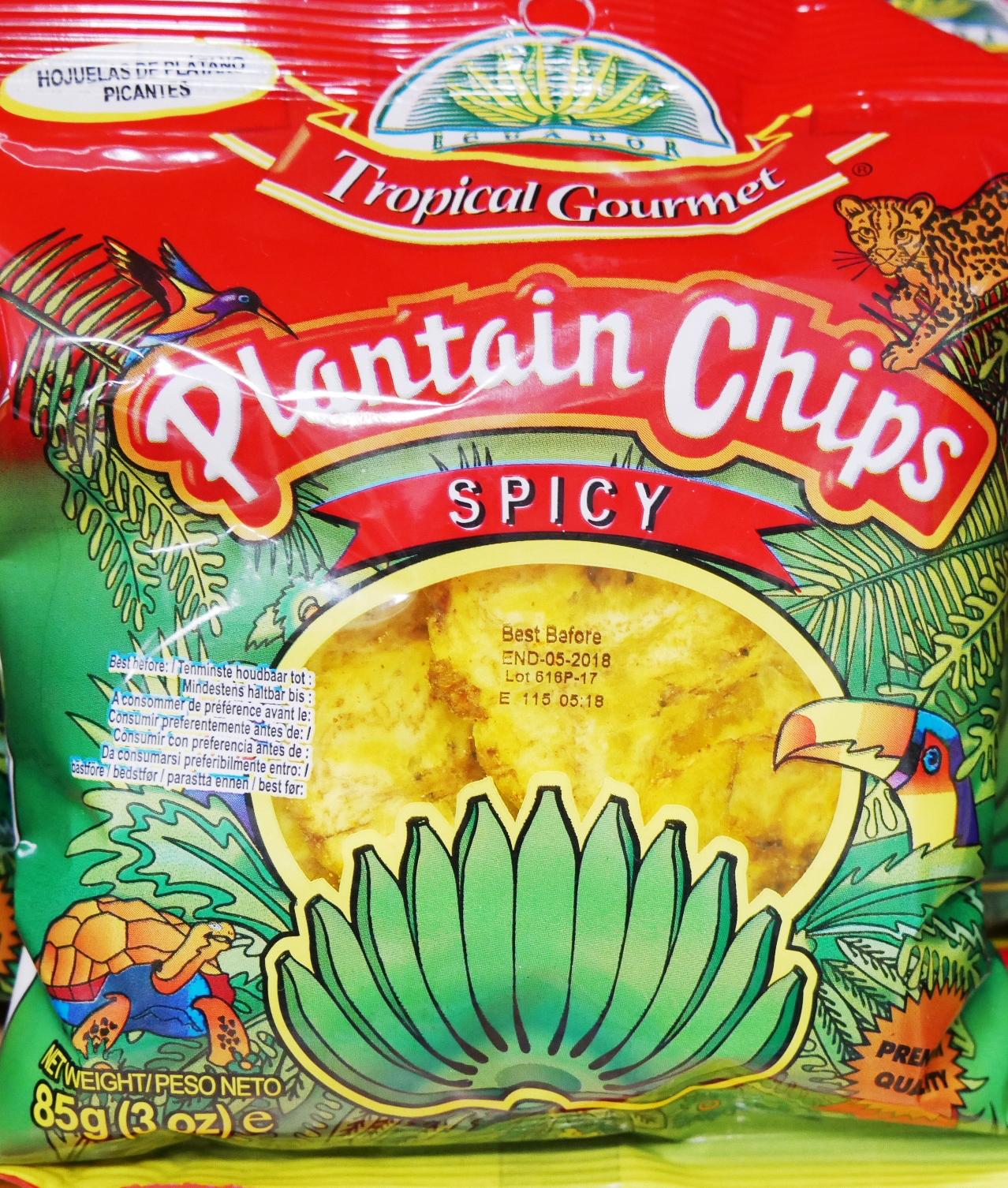 Bananen Chips - Scharf