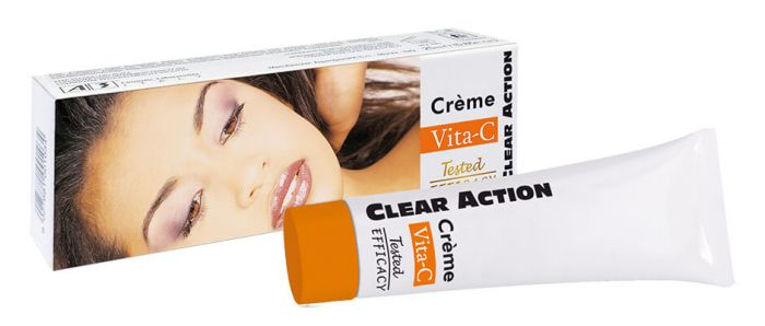 Clear Action Vita-C Cream Tube 25ml.