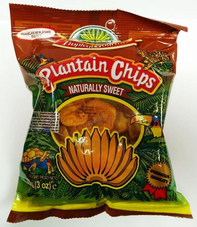 Bananen Chips - Natursüß