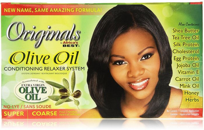 Africa's Best Organics Olive Relaxer Kit Super
