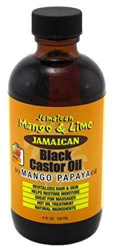 Jamaican M&L Black Castor Oil Mango Papaya 4oz.