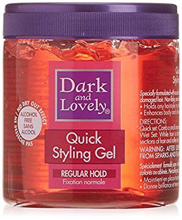 D&L Quick Styling Gel Regular Hold 450ml.