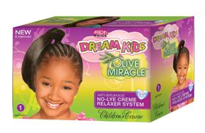African Pride Dream Kids OM Relaxer Kit Super