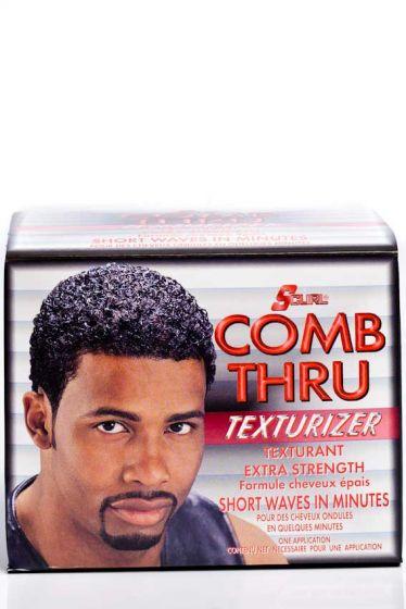S-Curl Comb Thru Texturizer Kit Extra Str.