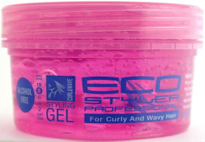 ECO Styler Styling Gel Curl & Wave 8oz.(pink)