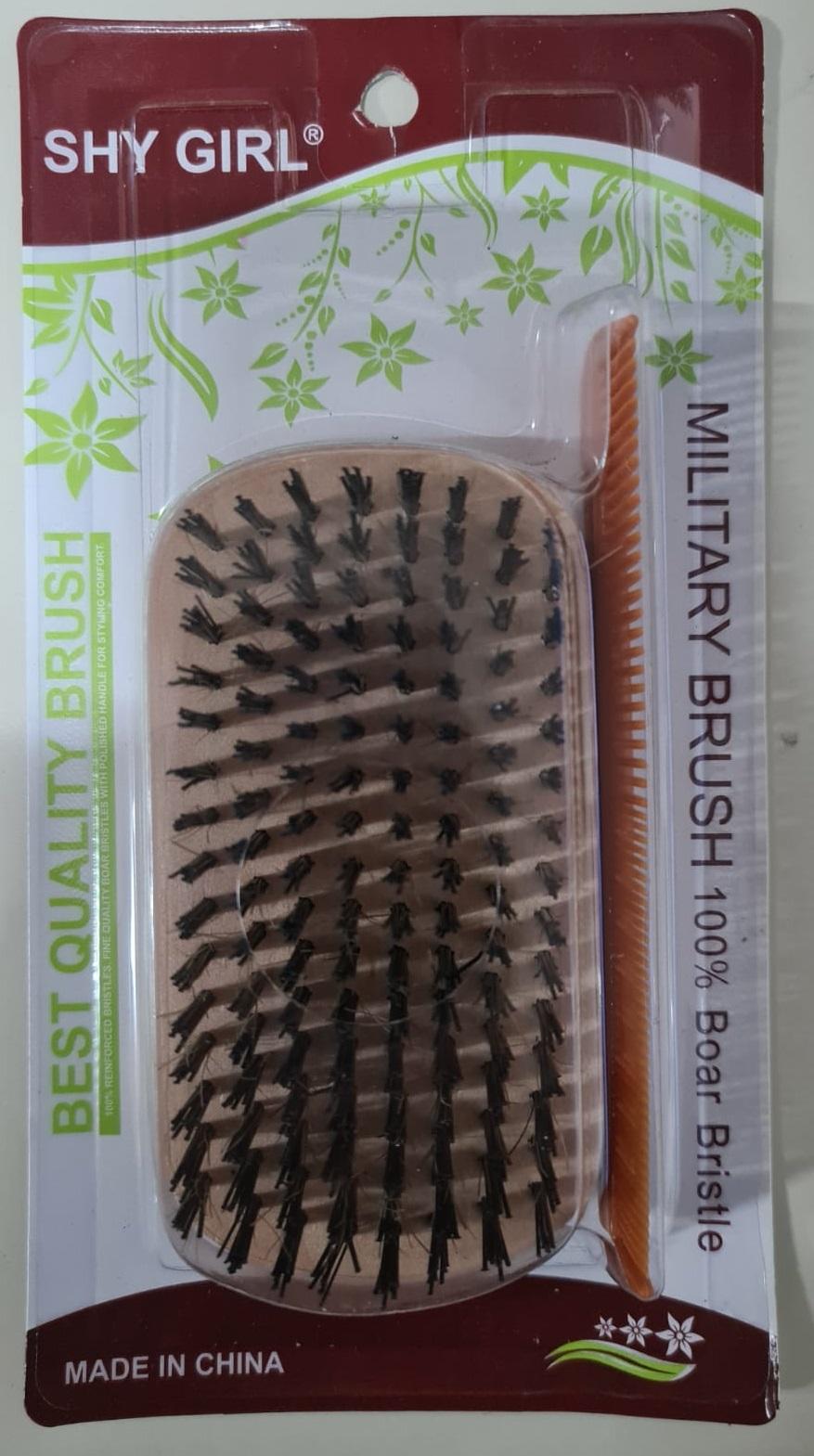 Round Square Hard Palm Brush