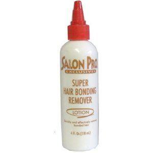 Salon Pro Hair Bonding Remover Lotion 4oz.