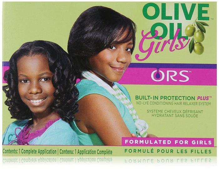 ORS Mädchen Olivenöl Relaxer Kit