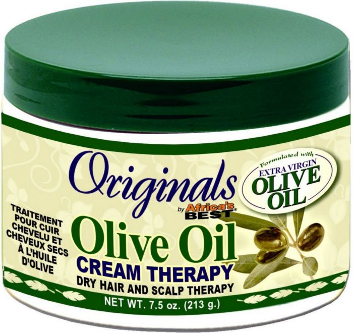 Africa's Best Organics Olive Oil Hair/Scalp Therapy 7.5oz