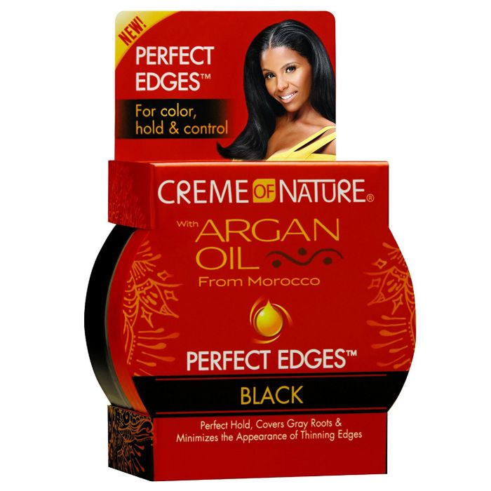 CON Argan Oil Perfect Edges Black 2.25oz.